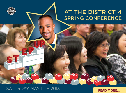 Step Up at the Spring Conference
